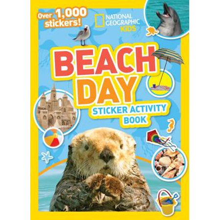 Ng Sticker Activity Books: National Geographic Kids Beach Day Sticker Activity Book - Diy Stickers