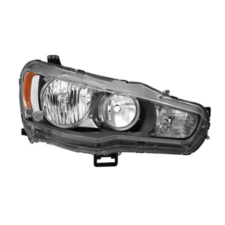 xTune Mitsubishi Lancer 08-15 Passenger Side Headlights - OEM Right HD-JH-ML08-OE-R