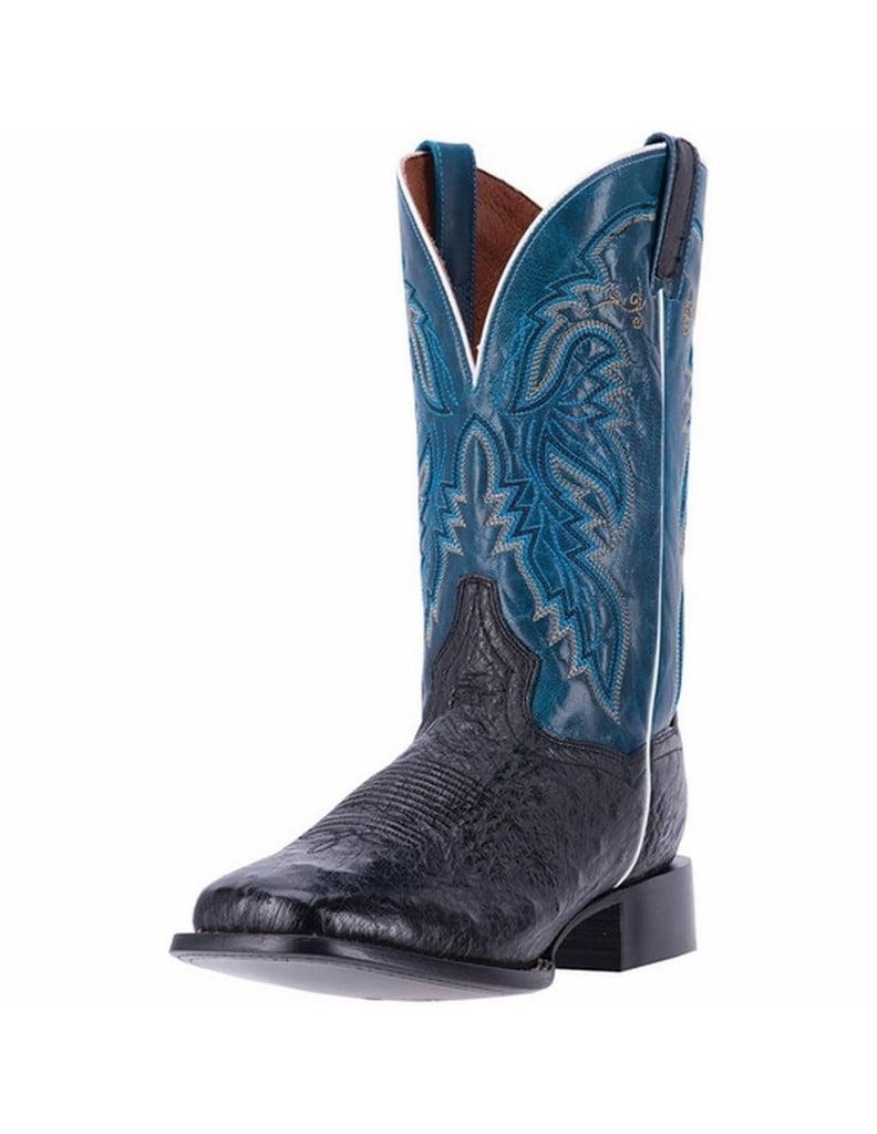 Dan Post Western Boots Mens Callahan Ostrich Square Black DPP5201 by Dan Post Boots