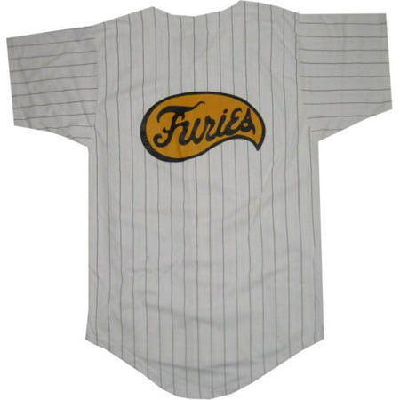The Warriors Furies Pinstriped Baseball Jersey Costume](Baseball Head Costume)
