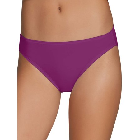 Fruit of the Loom Womens Cotton Stretch Bikini Panty, 6 Pack