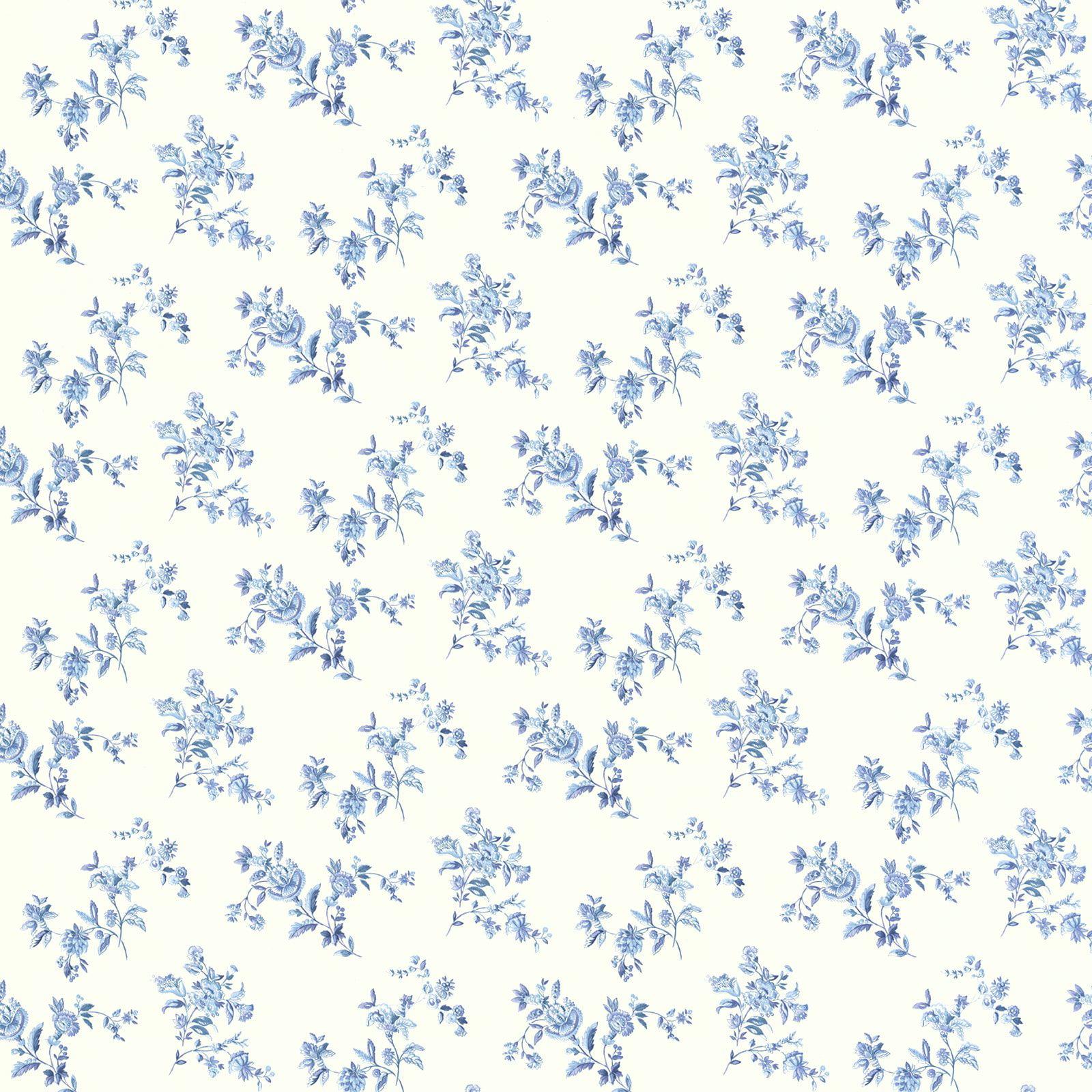 Brewster Waverly Floral Bouquet Wallpaper Walmart Com Walmart Com