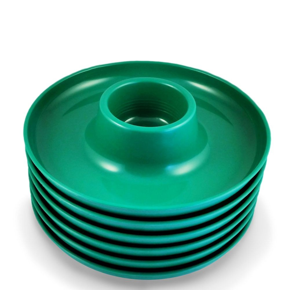sc 1 st  Walmart & The Great Plate Reusable Food u0026 Beverage Holder - Green - Walmart.com
