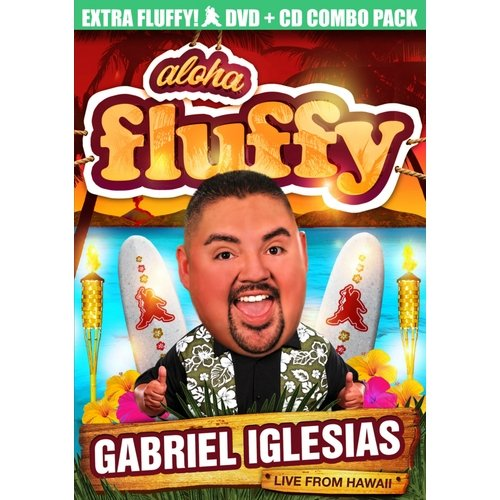 Gabriel Iglesias: Aloha Fluffy - Live From Hawaii (DVD + CD + VUDU) (Walmart Exclusive) (Widescreen)