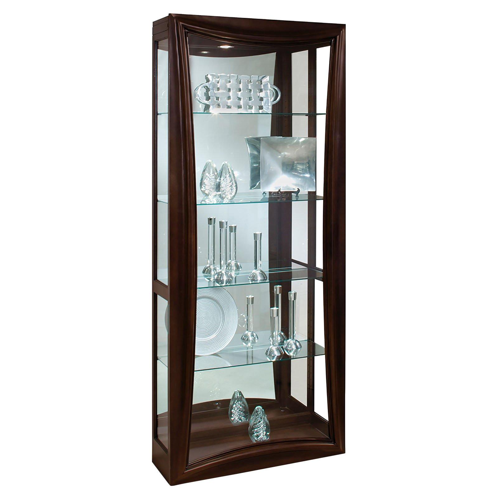 Philip Reinisch Company Halo Gemini II Curio Cabinet