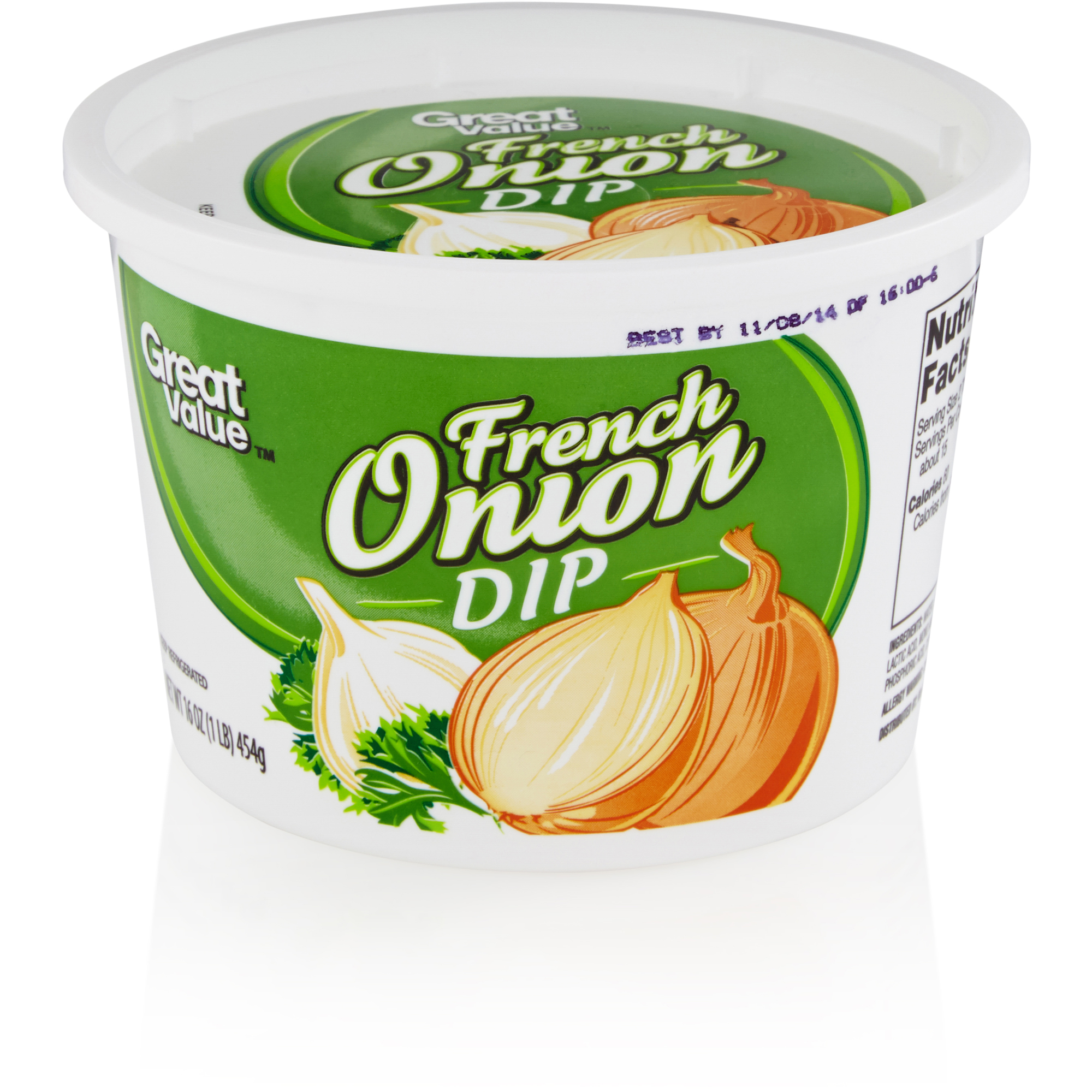 Great Value Dip French Onion, 16 oz