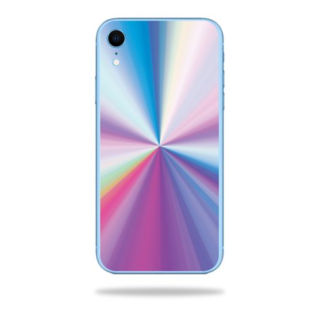 Skin for Apple iPhone XR - Rainbow Zoom | Protective, Durable, and Unique Vinyl Decal wrap cover | Easy To Apply, Remove, and Change Styles