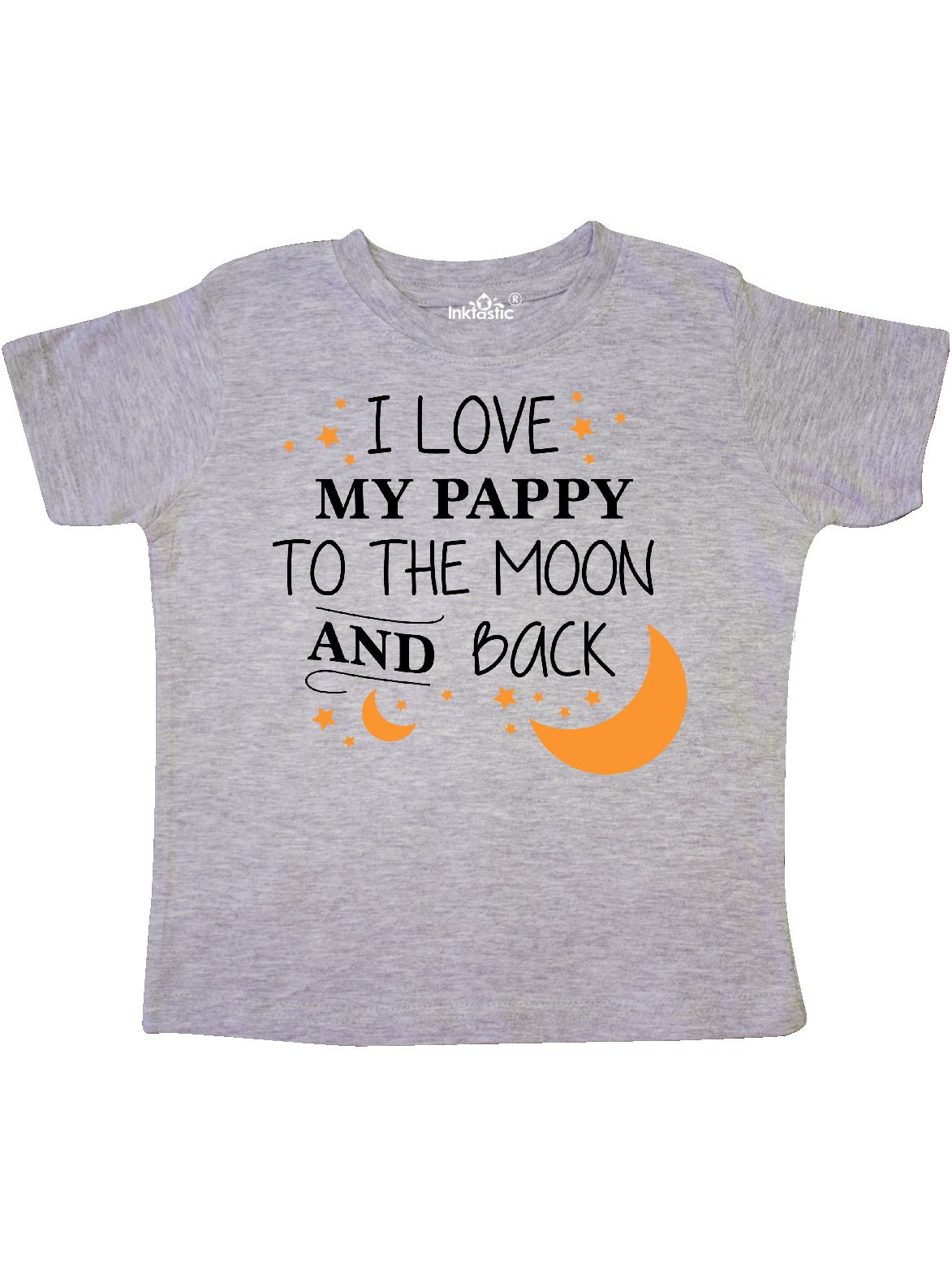 I love my Daddy to the moon and back T-Shirt Top Tee Children Kids Dad Gift