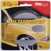 TRIMBRITE T0410 Pinstripe Tape, Silver, 0.31 In. X 36 Ft.