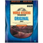 World Kitchens Sliced & Shaped Original Jerky Mega Value, 10 Oz.