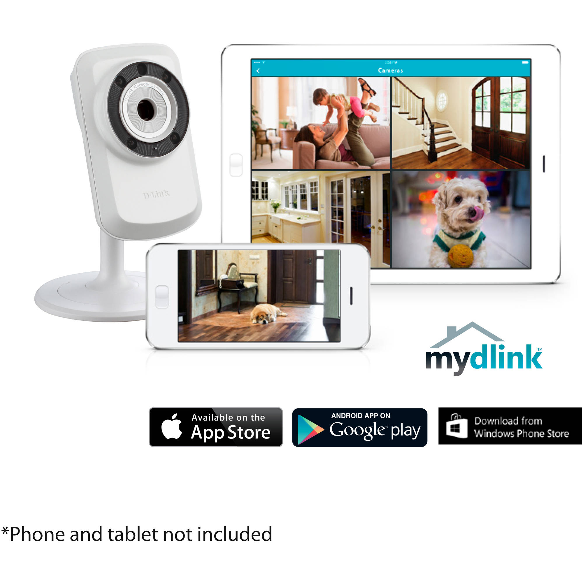 D-Link Day and Night Wi-Fi Camera (DCS-932L)