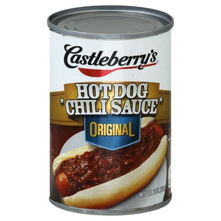 Castleberry's Classic Hot Dog Chili Sauce, 10 oz