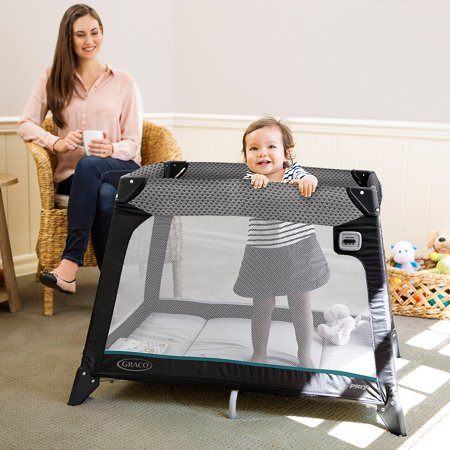 Graco Pack N Play Playard Nimble Nook  Sapphire