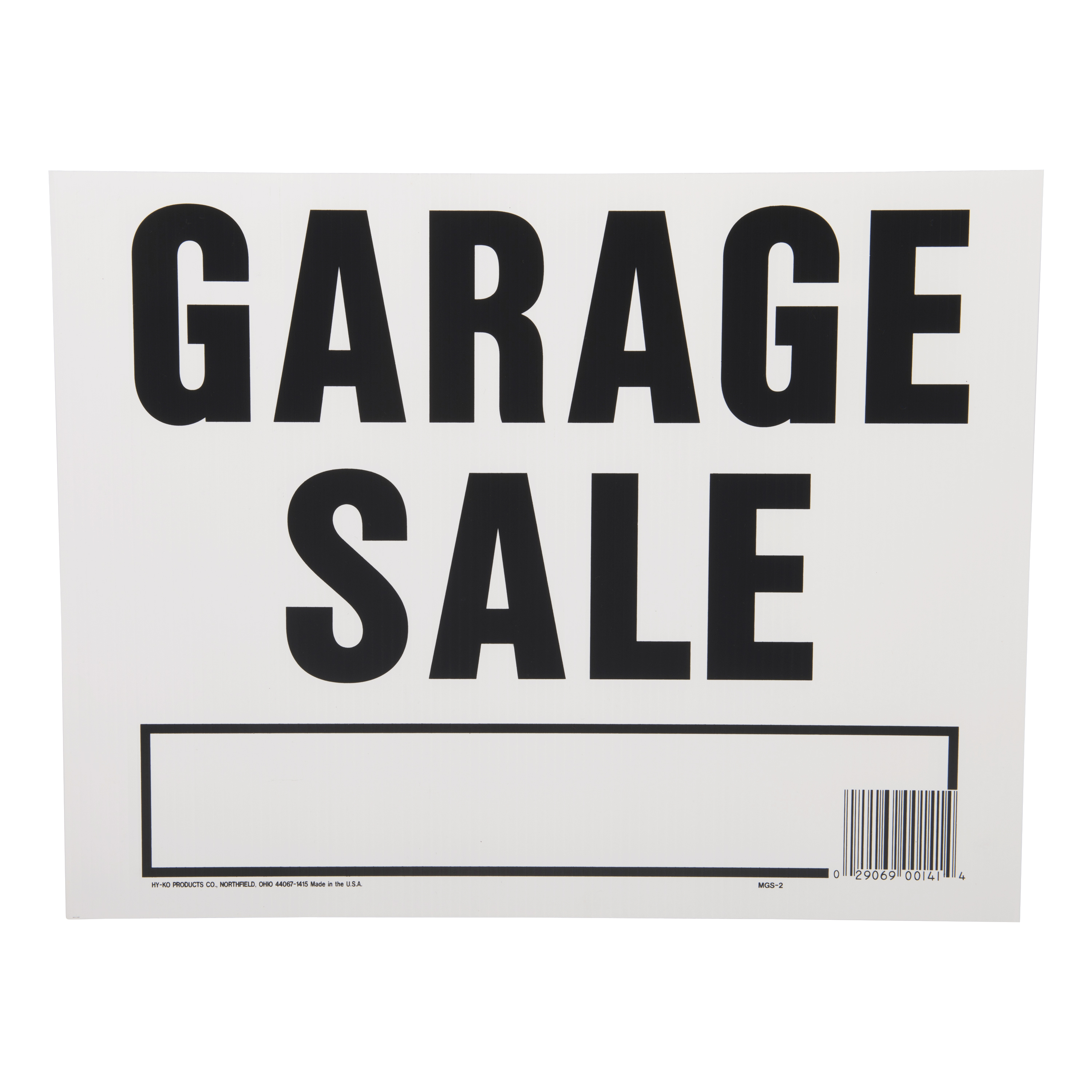 where can i buy garage sale signs