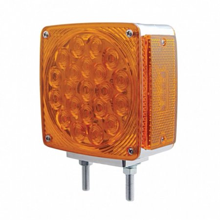 45 LED Double Face Turn Signal Light - Amber LED/Amber (Free Amber Lens)