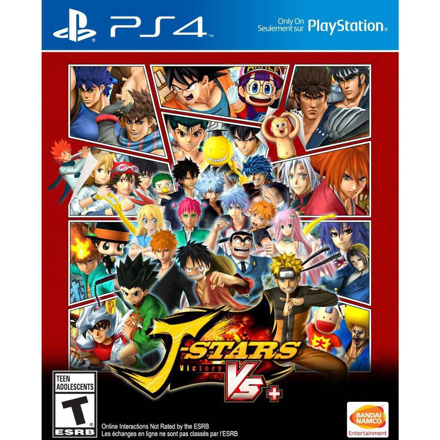 J-Stars Victory VS+ (PS4) - Pre-Owned