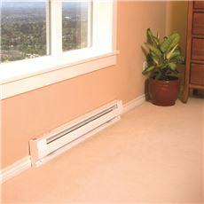 Baseboard Heater 1000W White 4 Ft.