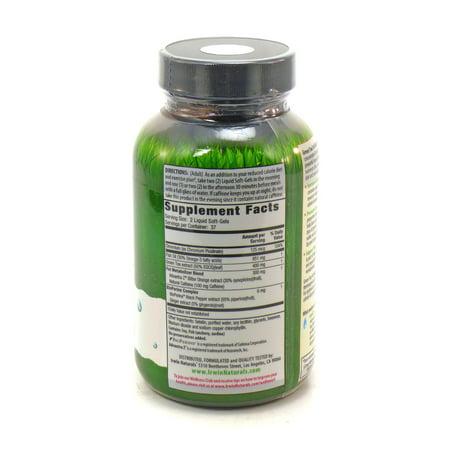 Irwin Naturals Thé vert métaboliseur de gras, 75 ct