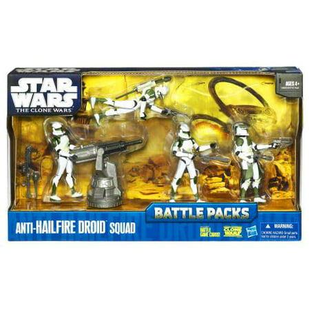 Star Wars The Clone Wars Battle Packs, Anti-Hailfire Droid