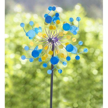 Midi Confetti Garden Wind Spinner, 4' H