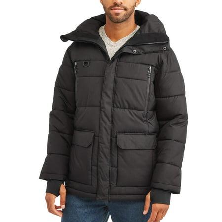 Men's Parka Jacket, up to size (Pup Parka)