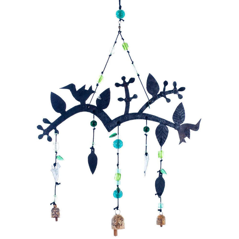 Maharani Imports Handmade Chirp! Bird Wind Chime (India)
