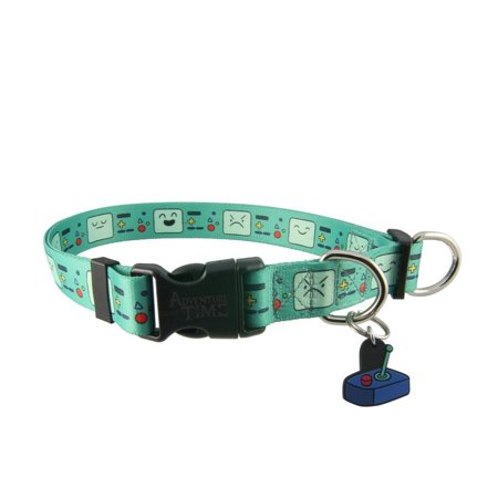 Adventure Time BMO Faces Adjustable Nylon Dog Collar](Dog Face Paint)