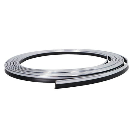 Chrome 5M 16ft Car Door Panel Edge Gap Strip Moulding Trim Decoration Accessory (Van Chrome Trim)