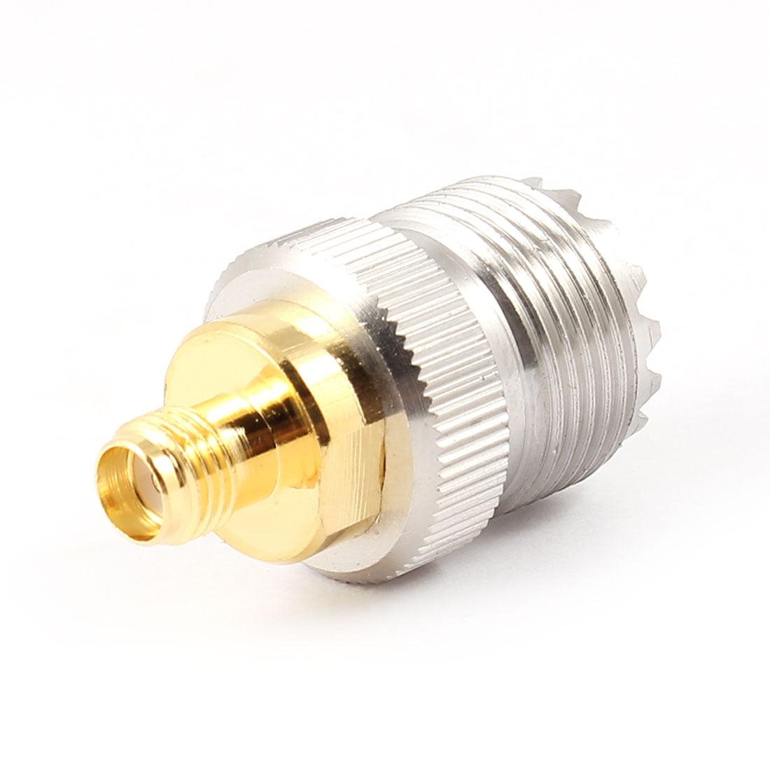 Unique Bargains UHF Female to SMA Female Plug RF Coaxial Antenna Connector