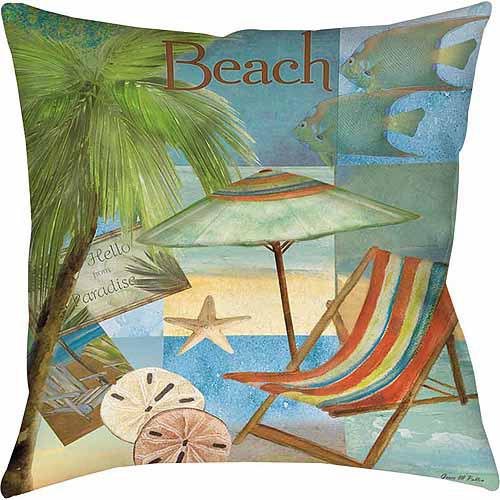 IDG Beach Memories B Indoor Pillow