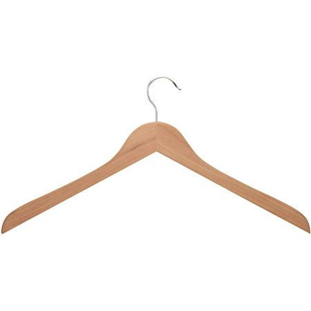 Honey Can Do Cedar Wood Shirt Hangers, Natural (Pack of 5)