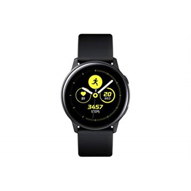 SAMSUNG Galaxy Watch Active - Bluetooth Smart Watch (40mm) Black - SM-R500NZKAXAR