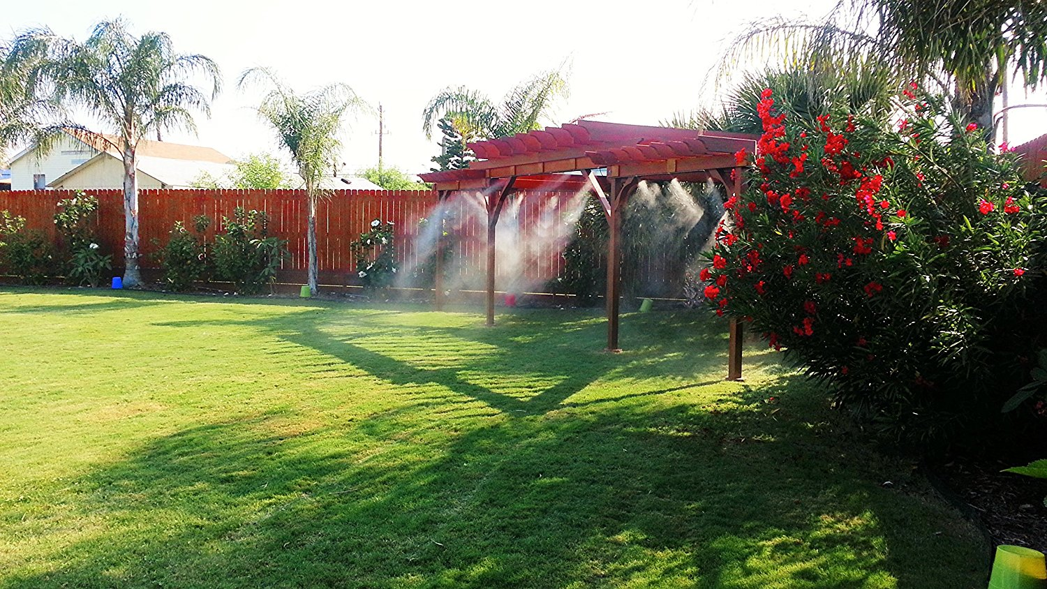 Patio Misting System by Mistcooling