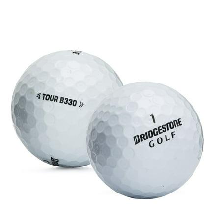 B330 Mint - Bridgestone Golf B330 Golf Balls, Used, Mint Quality, 24 Pack