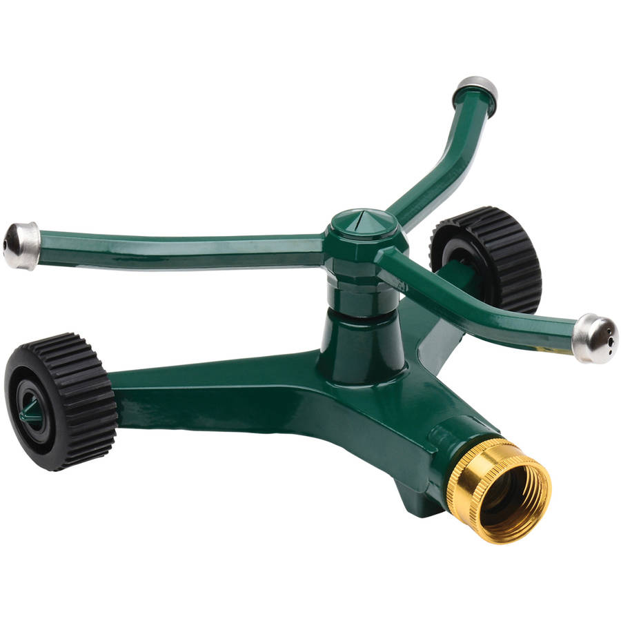 Melnor 3-Arm Revolving Sprinkler with Wheels by Melnor, Inc.