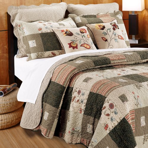 Greenland Home Fashions Sedona Bonus Quilt Set