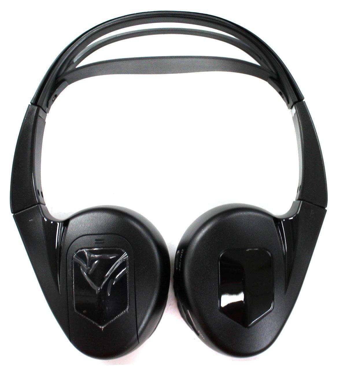 Audiovox IR1 Fold Flat Wireless Automotive Infrared IR 1 CH Stereo Headphones