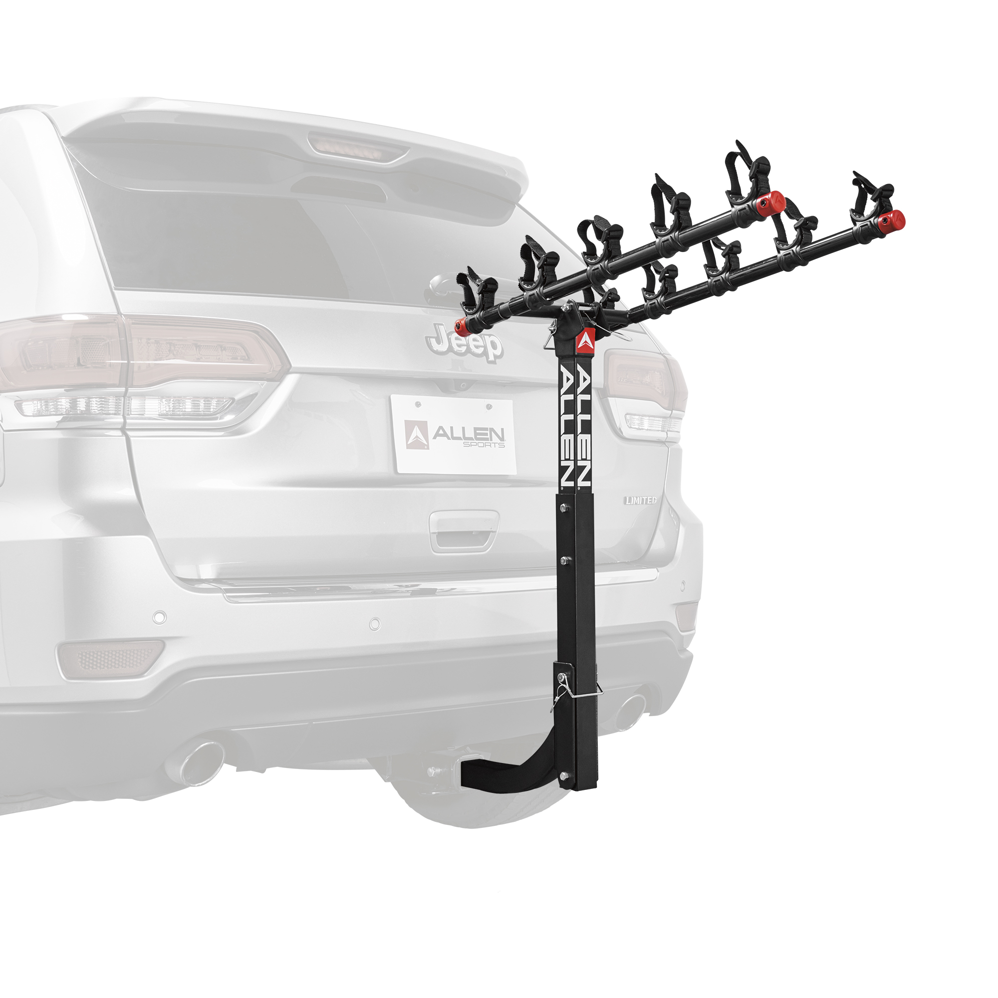 Allen Sports Deluxe 5-Bicycle Hitch Mounted Bike Rack, 552RR by Allen