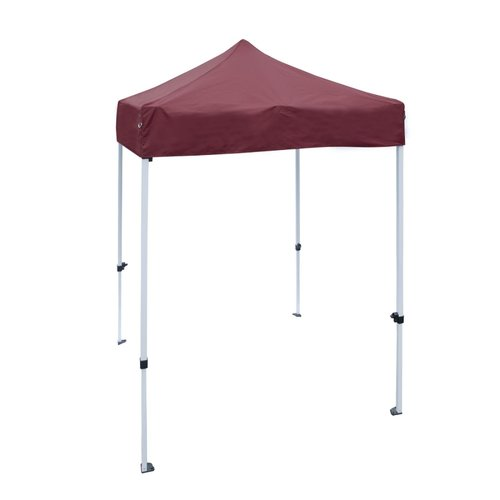 ALEKO GZF5X5WH Gazebo Tent 420D Oxford Canopy Party Tent
