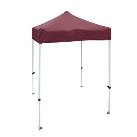 ALEKO GZF5X5WH Gazebo Tent 420D Oxford Canopy Party Tent