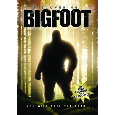 Discovering Bigfoot (DVD) (Bigfoot Costume Movie Quality)