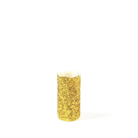 Gold Christmas Candle - 6