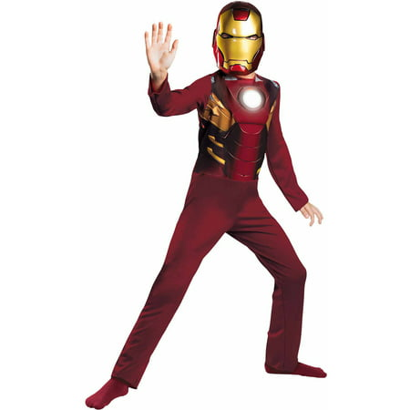 Iron Man Mark 7 Avengers Child Halloween Costume](Kids Iron Man Costumes)