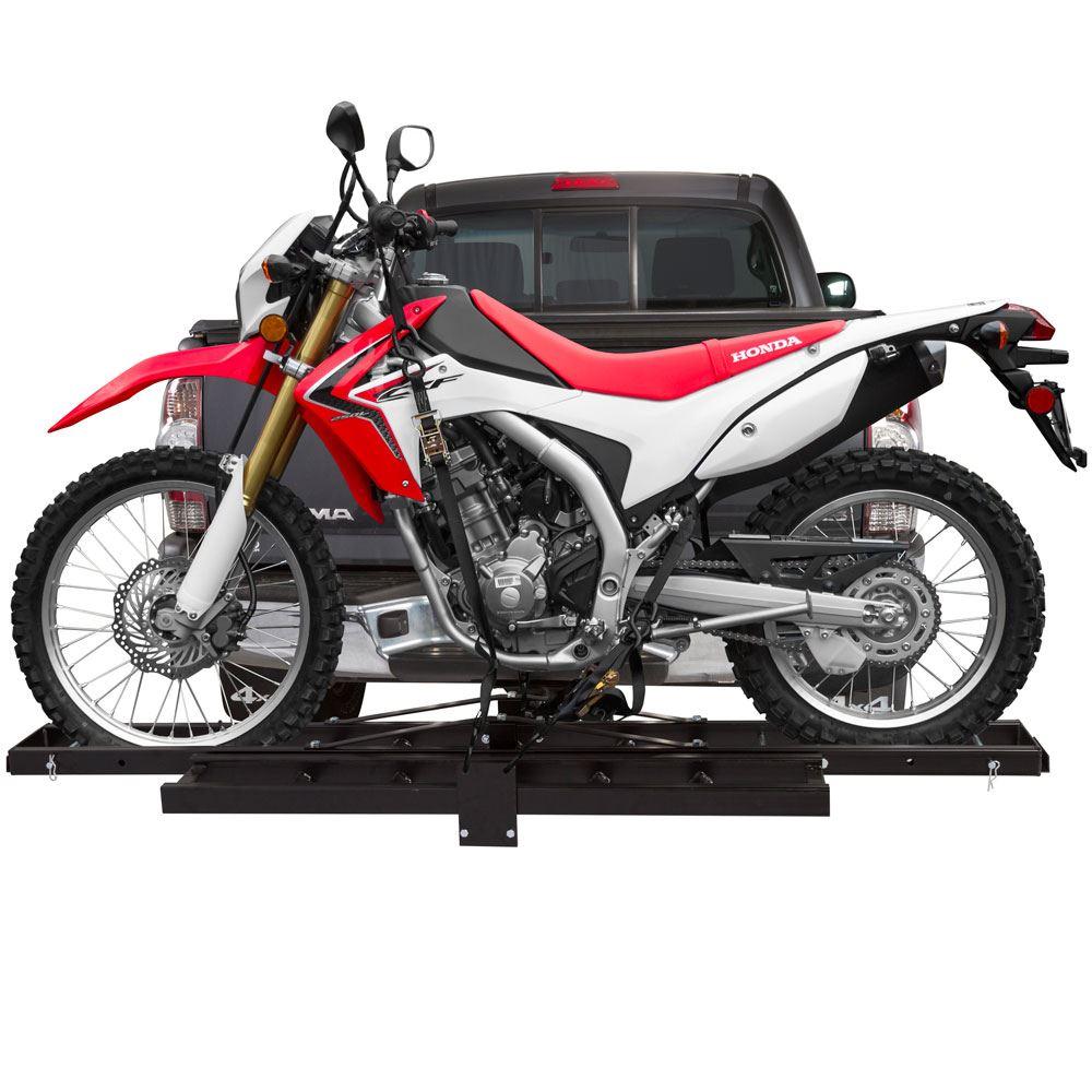 Black Widow Steel Motorcycle Carrier