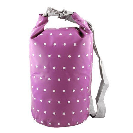 SAFEBET Authorized Water Resistant Bag Dry Sack Purple 10L for Rafting Camping .