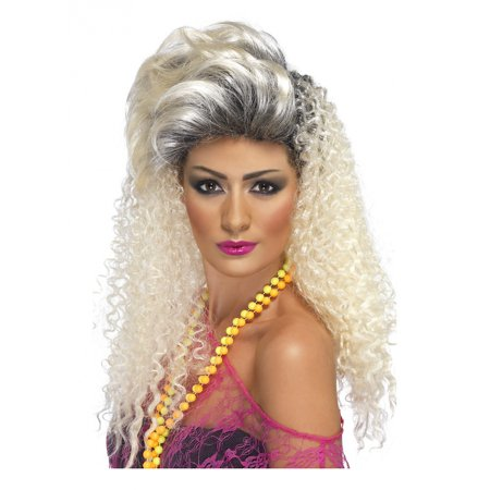 80's Bottle Blonde Wig Adult Costume - 80s Wigs