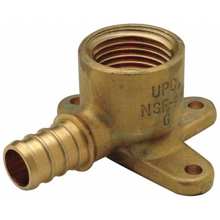 Brass Drop - Drop Ear Elbow,90 deg.,Low Lead Brass ZURN PEX QQDE33BFGX