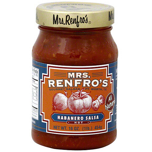 Mrs. Renfro's Habanero Salsa, 16 oz (Pack of 6)