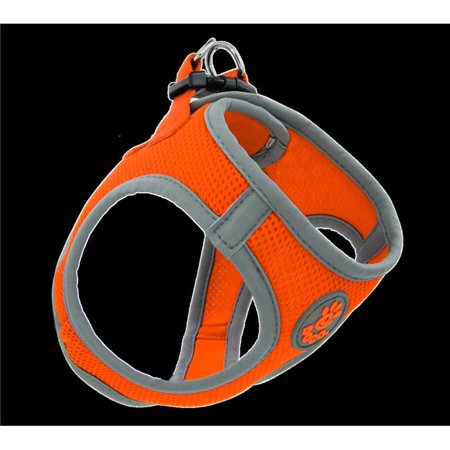 Doco DCA306-S8XS Athletica Quick Fit Mesh Harness Leash, Orange - Extra - Quick Rappelling Harness