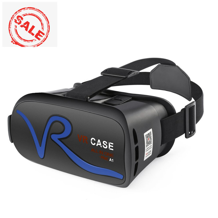 1 Pack Comfortable Virtual Reality Headset IPD Adjustment USB Adjustable Head Band Bluetoot h Touching Control Mobile Virtual Reality Glasses With Trackpad